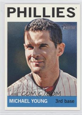 2013 Topps Heritage - [Base] #258 - Michael Young