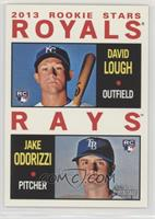 2013 Rookie Stars (David Lough, Jake Odorizzi)