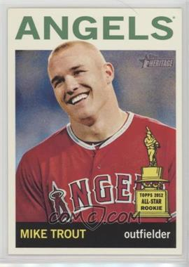 2013 Topps Heritage - [Base] #430.1 - Mike Trout (Base)