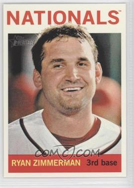 2013 Topps Heritage - [Base] #432.1 - Ryan Zimmerman (Base)