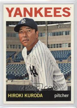2013 Topps Heritage - [Base] #443 - Hiroki Kuroda