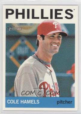 2013 Topps Heritage - [Base] #448.1 - Cole Hamels (Base)