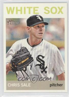 2013 Topps Heritage - [Base] #455.2 - Chris Sale (Color Variation)