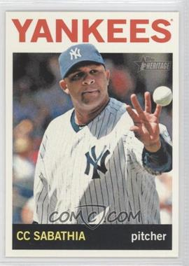 2013 Topps Heritage - [Base] #456.2 - CC Sabathia (Action Photo)