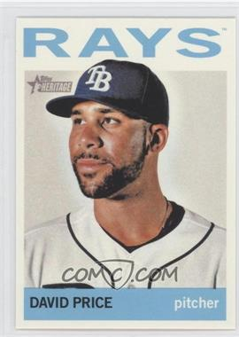 2013 Topps Heritage - [Base] #458.1 - David Price (Base)