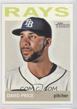 2013 Topps Heritage - [Base] #458.2 - David Price (Color Variation)