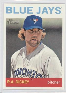 2013 Topps Heritage - [Base] #464.1 - R.A. Dickey (Base)