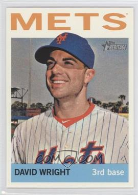 2013 Topps Heritage - [Base] #465.1 - David Wright (Base)