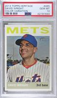 David Wright (Color Variation) [PSA 10 GEM MT]