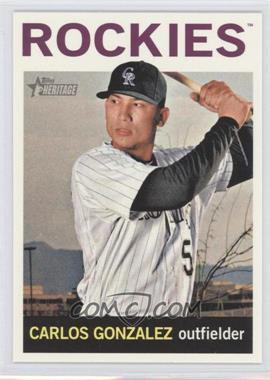 2013 Topps Heritage - [Base] #466 - Carlos Gonzalez