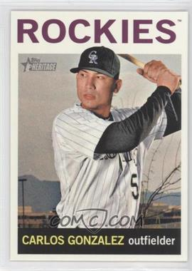2013 Topps Heritage - [Base] #466 - Carlos Gonzalez