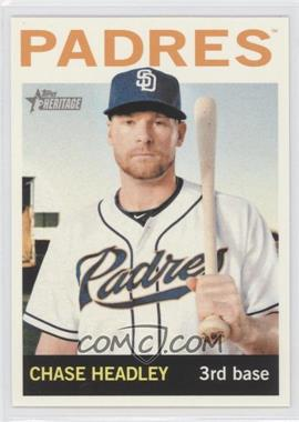 2013 Topps Heritage - [Base] #467.1 - Chase Headley (Base)