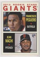 2013 Rookie Stars (Francisco Peguero, Jean Machi)