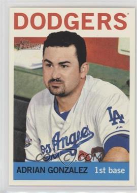 2013 Topps Heritage - [Base] #472 - Adrian Gonzalez
