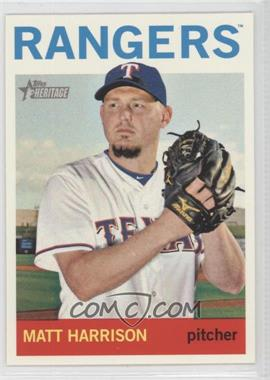2013 Topps Heritage - [Base] #473 - Matt Harrison