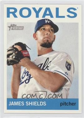 2013 Topps Heritage - [Base] #483 - James Shields
