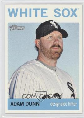 2013 Topps Heritage - [Base] #484.1 - Adam Dunn (Base)
