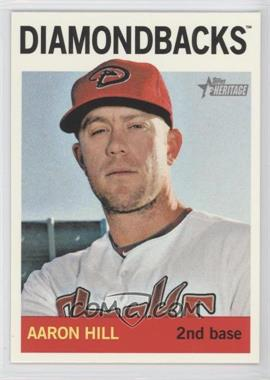 2013 Topps Heritage - [Base] #489 - Aaron Hill