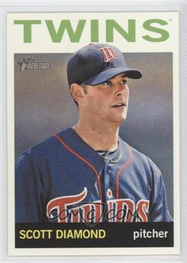 2013 Topps Heritage - [Base] #495 - Scott Diamond
