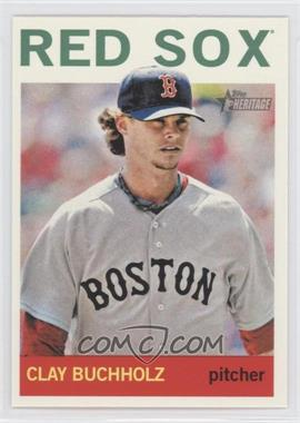 2013 Topps Heritage - [Base] #496 - Clay Buchholz
