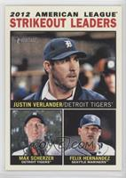 2012 American League Strikeout Leaders (Justin Verlander, Max Scherzer, Felix H…