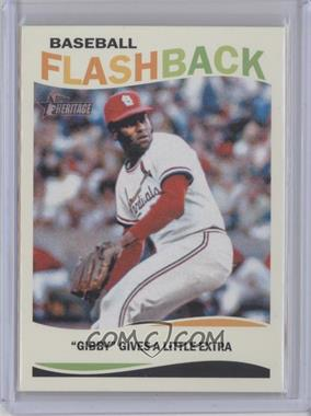 2013 Topps Heritage - Baseball Flashback #BF-BG - Bob Gibson