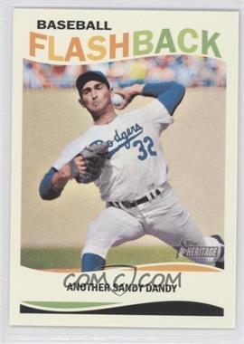 2013 Topps Heritage - Baseball Flashback #BF-SK - Sandy Koufax