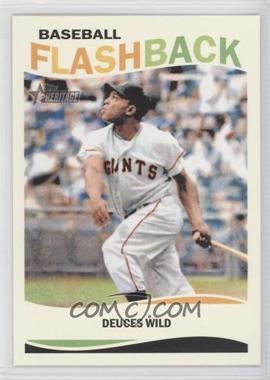 2013 Topps Heritage - Baseball Flashback #BF-WM - Willie Mays