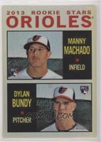 Manny Machado, Dylan Bundy #/564