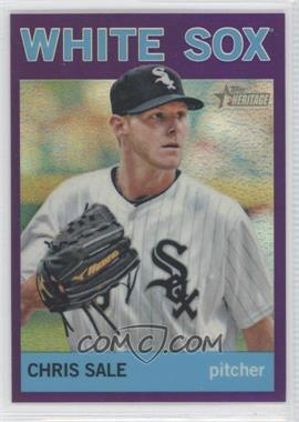 2013 Topps Heritage - Chrome - Retail Purple Refractors #HC49 - Chris Sale