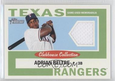 2013 Topps Heritage - Clubhouse Collection Relics #CCR-AB - Adrian Beltre