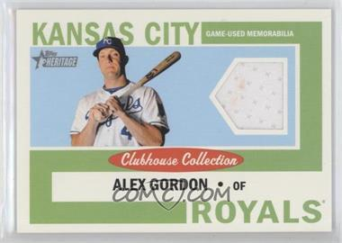2013 Topps Heritage - Clubhouse Collection Relics #CCR-AG - Alex Gordon