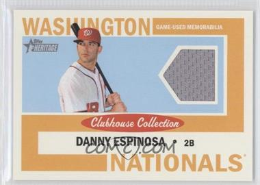 2013 Topps Heritage - Clubhouse Collection Relics #CCR-DE - Danny Espinosa