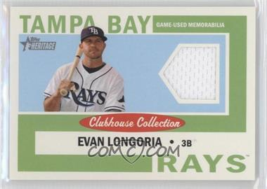 2013 Topps Heritage - Clubhouse Collection Relics #CCR-EL - Evan Longoria