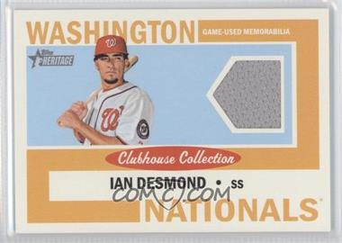 2013 Topps Heritage - Clubhouse Collection Relics #CCR-ID - Ian Desmond