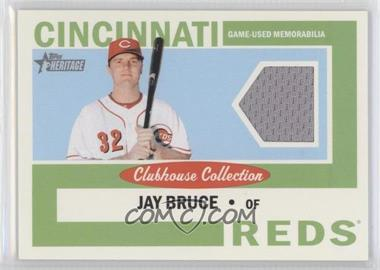 2013 Topps Heritage - Clubhouse Collection Relics #CCR-JB - Jay Bruce