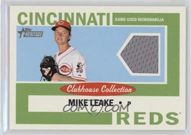 2013 Topps Heritage - Clubhouse Collection Relics #CCR-ML - Mike Leake