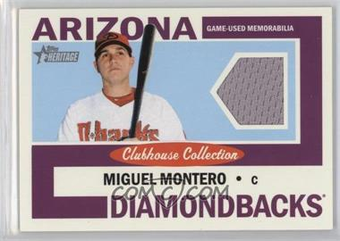 2013 Topps Heritage - Clubhouse Collection Relics #CCR-MMO - Miguel Montero