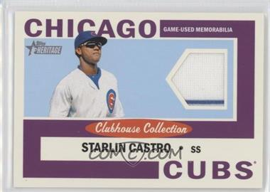 2013 Topps Heritage - Clubhouse Collection Relics #CCR-SC - Starlin Castro