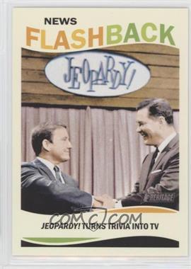 2013 Topps Heritage - News Flashback #NF-J - Art Fleming
