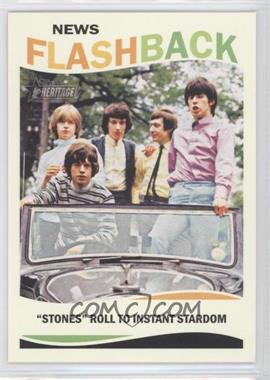2013 Topps Heritage - News Flashback #NF-RS - The Rolling Stones