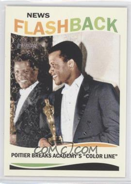 2013 Topps Heritage - News Flashback #NF-SP - Sidney Poitier
