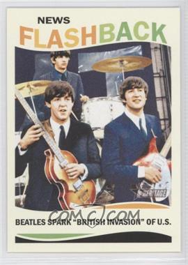 2013 Topps Heritage - News Flashback #NF-TB - The Beatles