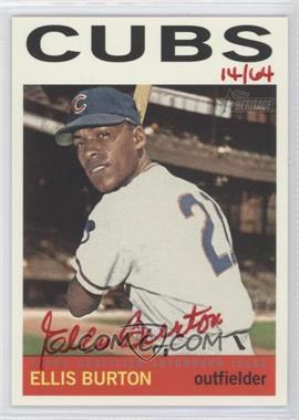 2013 Topps Heritage - Real One Certified Autographs - Red Ink #ROA-EBU - Ellis Burton /64