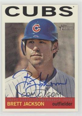 2013 Topps Heritage - Real One Certified Autographs #ROA-BJ - Brett Jackson