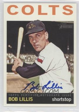 2013 Topps Heritage - Real One Certified Autographs #ROA-BL - Bob Lillis