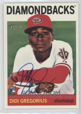2013 Topps Heritage - Real One Certified Autographs #ROA-DG - Didi Gregorious