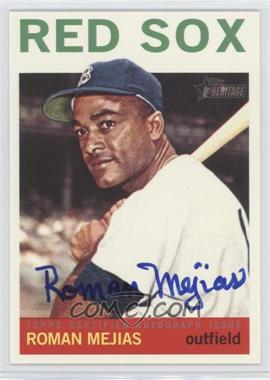 2013 Topps Heritage - Real One Certified Autographs #ROA-RM - Roman Mejias