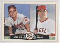 Luis Aparicio, Mike Trout
