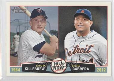 2013 Topps Heritage - Then and Now #TN-KC - Harmon Killebrew, Miguel Cabrera